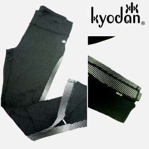 Kyodan Black Athletic Leggings Sz M